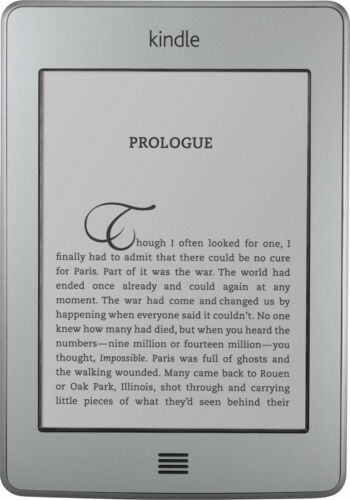 1 of 1 - Amazon Kindle Touch (4th Generation) 4GB, Wi-Fi, 6in - Silver