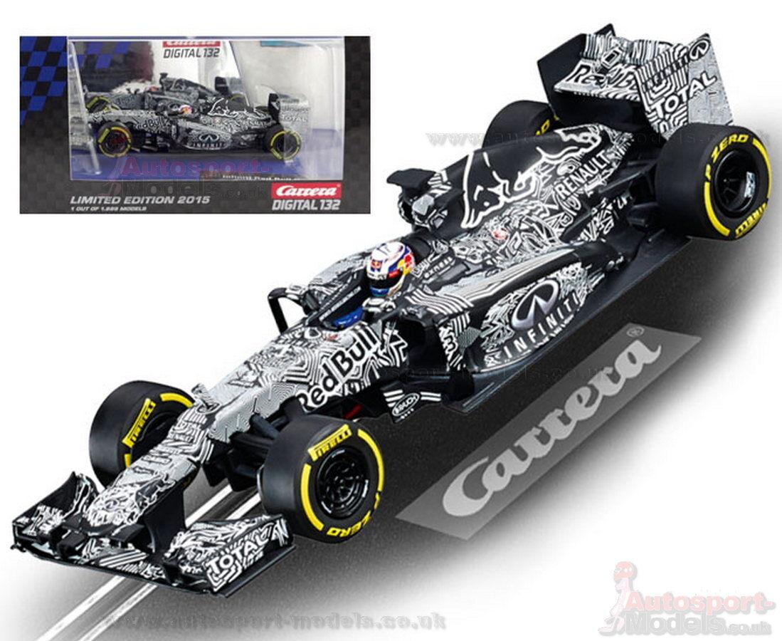 Carrera Digital Slot Car  Infinity Red Bull 2015 Test Car Limited Edition