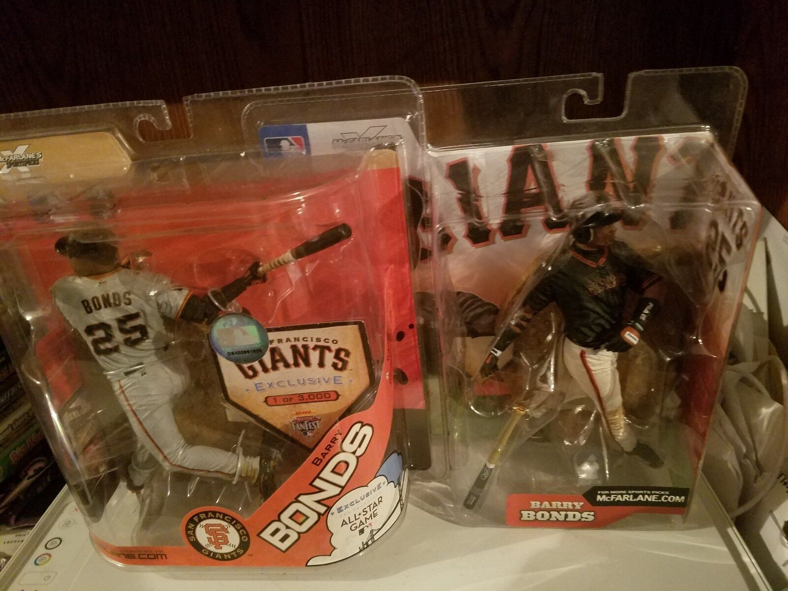 MacFarlane Barry Bonds Figures Bundle