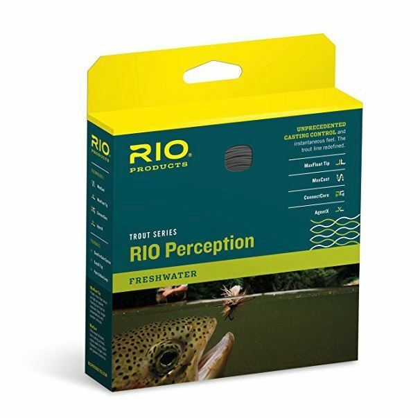 RIO PERCEPTION Fly Line WF7F  NEW  verde  Camo Tan  CLOSEOUT