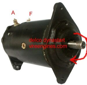 Pleasant Delco Dynastart Unit Starter Dynamo New Ebay Wiring Digital Resources Instshebarightsorg