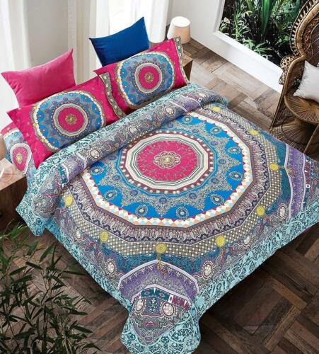 African Trendy Polycotton Complete Set Bedding Covers Pillow Cases