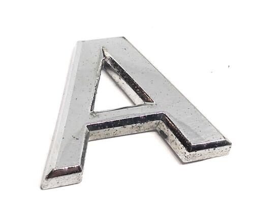 07-11 Nissan Altima Rear Trunk Emblem Badge Name Symbol A Single Letter