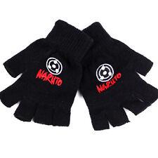 Anime Naruto Hatake Kakashi Sharingan Cosplay Cotton Knitted Gloves Mittens Gift