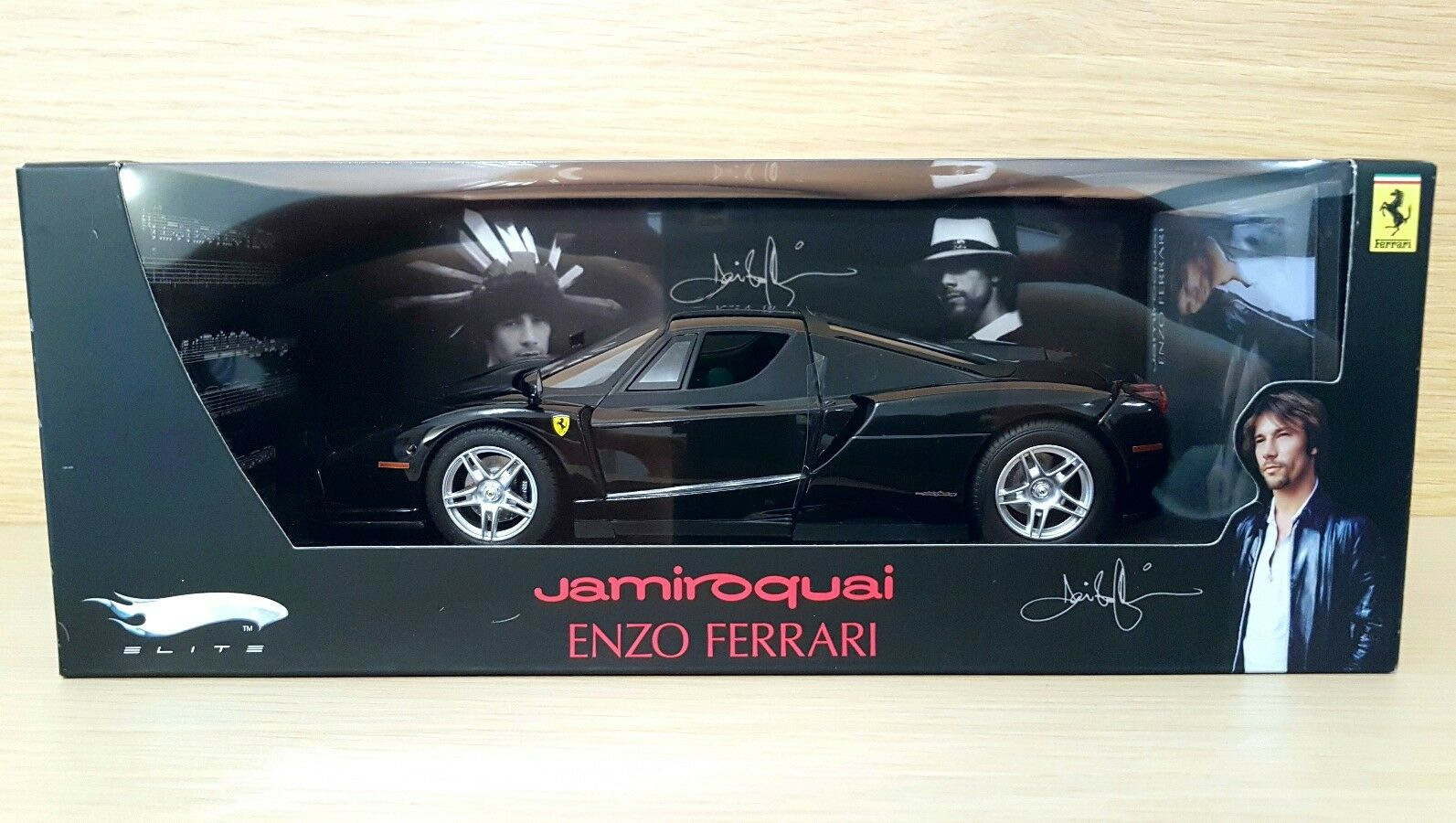 Ferrari Enzo Ferrari Jamiroquai (2002) 1 18 Hot Wheels Elite Limited Edition