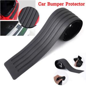 Universal-Car-Rear-Bumper-Sill-Protector-Plate-Rubber-Cover-Guard-Trim-Pad-90cm