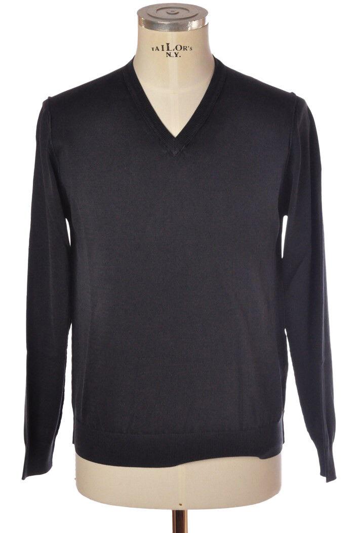 Alpha - Knitwear-Sweaters - man - bluee - 827118C180755