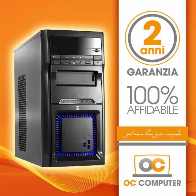 PC DESKTOP COMPUTER QUAD CORE A10 GAMING 4.0 GHZ/16GB RAM/SSD 120GB/RADEON R7