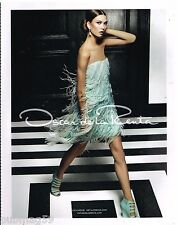 Publicité Advertising 2012 Haute couture Oscar de la Renta