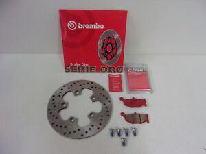 Brembo Bremsscheibe Bremsbeläge Schrauben Bremse hinten Suzuki GSXR 600 750 1000