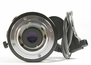 COMPUTAR TV Lens 18mm f1.4 for WKT-201 A and 902A Cameras.
