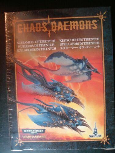 Warhammer 40K Fantasy Age Sigmar Chaos Daemons Screamers of Tzeentch Sealed New