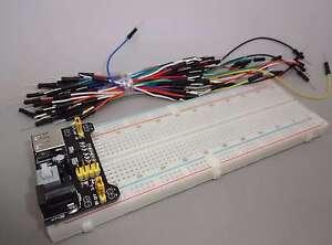 Netzteil-Adapter-Steckboard-mit-830-Kontakten-65x-Jumper-Versand-Frei-EB0446