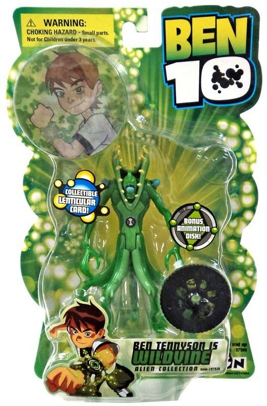 Ben 10 Alien Collection Series 1 WildVine Action Figure