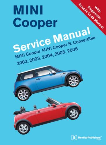 Bentley Haynes Chilton Repair Service Shop Manual 2002-2006 MINI Cooper S Conv