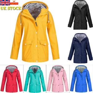 812810eee4102 Plus Size Women Waterproof Jacket Raincoat Full Zip Outdoor Climbing ...