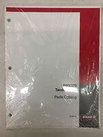 Case Ih International Harvester Model Rmx370 Tandem Disk Part Catalog