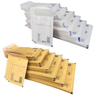 200 A1 Luftpolstertaschen Versandtaschen Luftpolstertüten 120 x 175 mm braun A 1