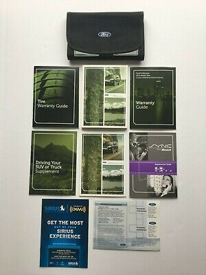 ford escape full owners manual user guide excellent