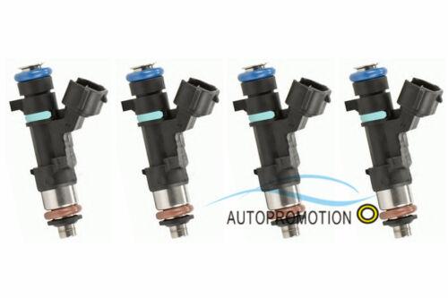 New 4Pcs Fuel Injectors For 07-11 Nissan Altima Rogue Sentra 2.5L L4 0280158130