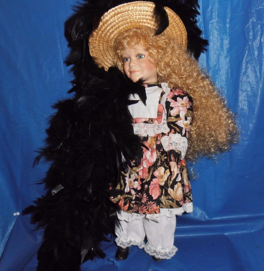 G &  G WOLFF,  A Beautiful Porcelain bambola ( Spencer ) Limited edizione,  COA  1992  vendita di offerte