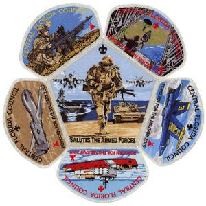 2019-Central-Florida-Council-Military-CSP-Scout-Patch-Badge-Set-BSA-Lot-Jamboree
