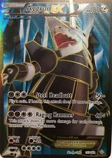 Pokemon TCG XY PRIMAL CLASH :Aggron EX FULL ART ULTRA RARE 153/160