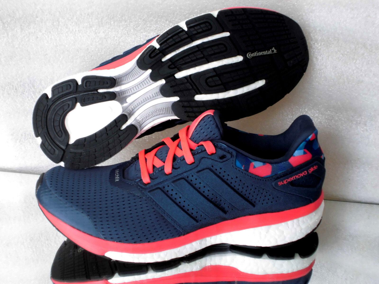 Adidas supernova Glide 8  GMX W aq5059 fitness  8 & corre zapatillas de deporte cortos azul Nuevo b31c19