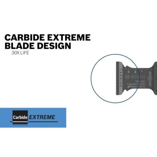 OSL034C Size BOSCH Oscillating Blade,Carbide,3//4 in