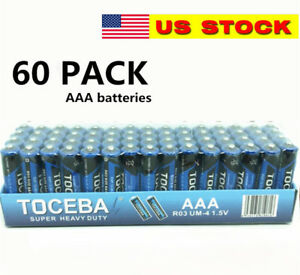 60-pack-AAA-Batteries-Extra-Heavy-Duty-1-5v-60-Pack-Wholesale-Bulk-Lot