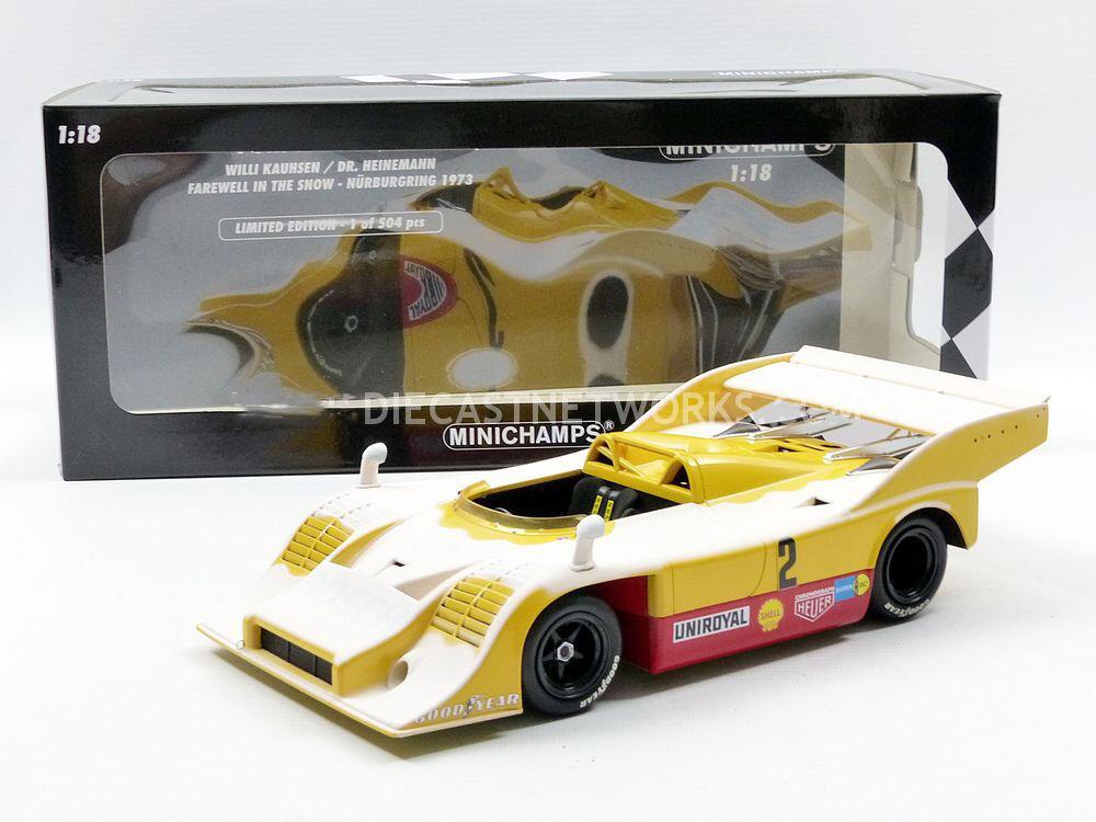 Minichamps Porsche 917 10 Nurburgring 1973 Bosch Kauhsen  2 1 18 New LE of 504.