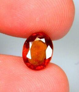 3-6-Ct-Natural-Orange-Hessonite-Garnet-Oval-Cut-Cushion-Cabochon-Gemstone-A500