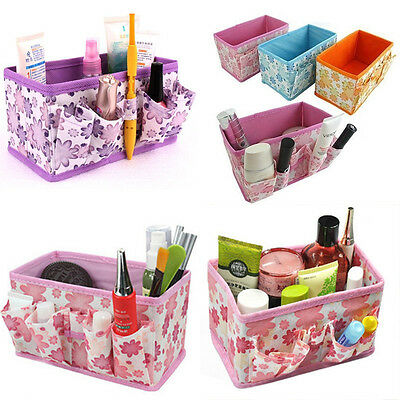 NEW Sale Folding Multifunction Makeup Cosmetic Storage Box Container Organizer