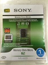 Sony Memory Stick Micro (M2) 1GB MS-A1GDFP NEW SEALED