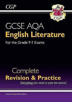 New GCSE English Literature AQA Complete Revision & Practice - For the Grade 9-1