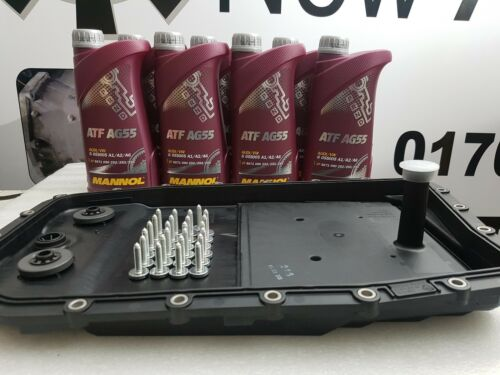 genuine zf Jaguar xj 6hp28 automatic transmission gearbox pan sump filter 7L oil