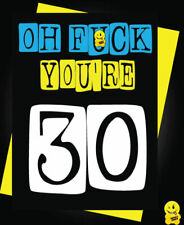 Funny 40th Birthday Card Humour Cheeky Age Joke 40 Brother Sister Wife Husband