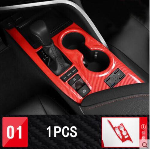 FOR Toyota Camry 2018-2019 Red carbon fiber Interior Full set Accessories Trim