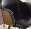 thumbnail 21 - 1 PC Mid Century Modern Leather Upholstered Accent Chair Home Office LivingRoom