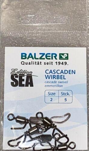 Balzer Edition Sea Cascaden Wirbel Meereswirbel Brandungsangeln Sea Cast Größe 2