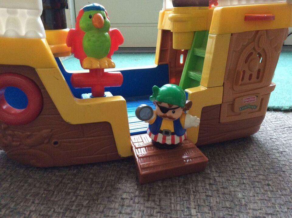 Andet legetøj, Sørøverskib, Fisher-Price