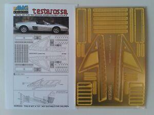 Ferrari Testarossa Spider Pocher AMG Detail Set 2005 - 007 in 1/8 scale