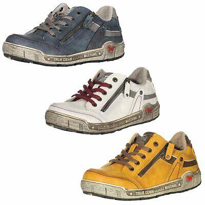 NEU Mustang Damenschuhe Schuhe Sneaker Halbschuhe Schnürschuhe Leo Damensneaker