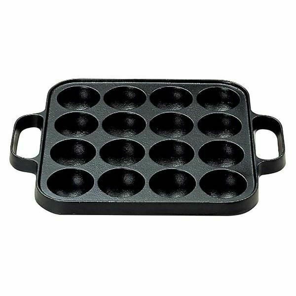 Seieido Cast-Iron 16-Ball Takoyaki Pan | eBay