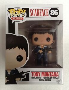 Scarface-Tony-Montana-Pop-Vinyl-Figure-86-NEW-Funko-Vaulted