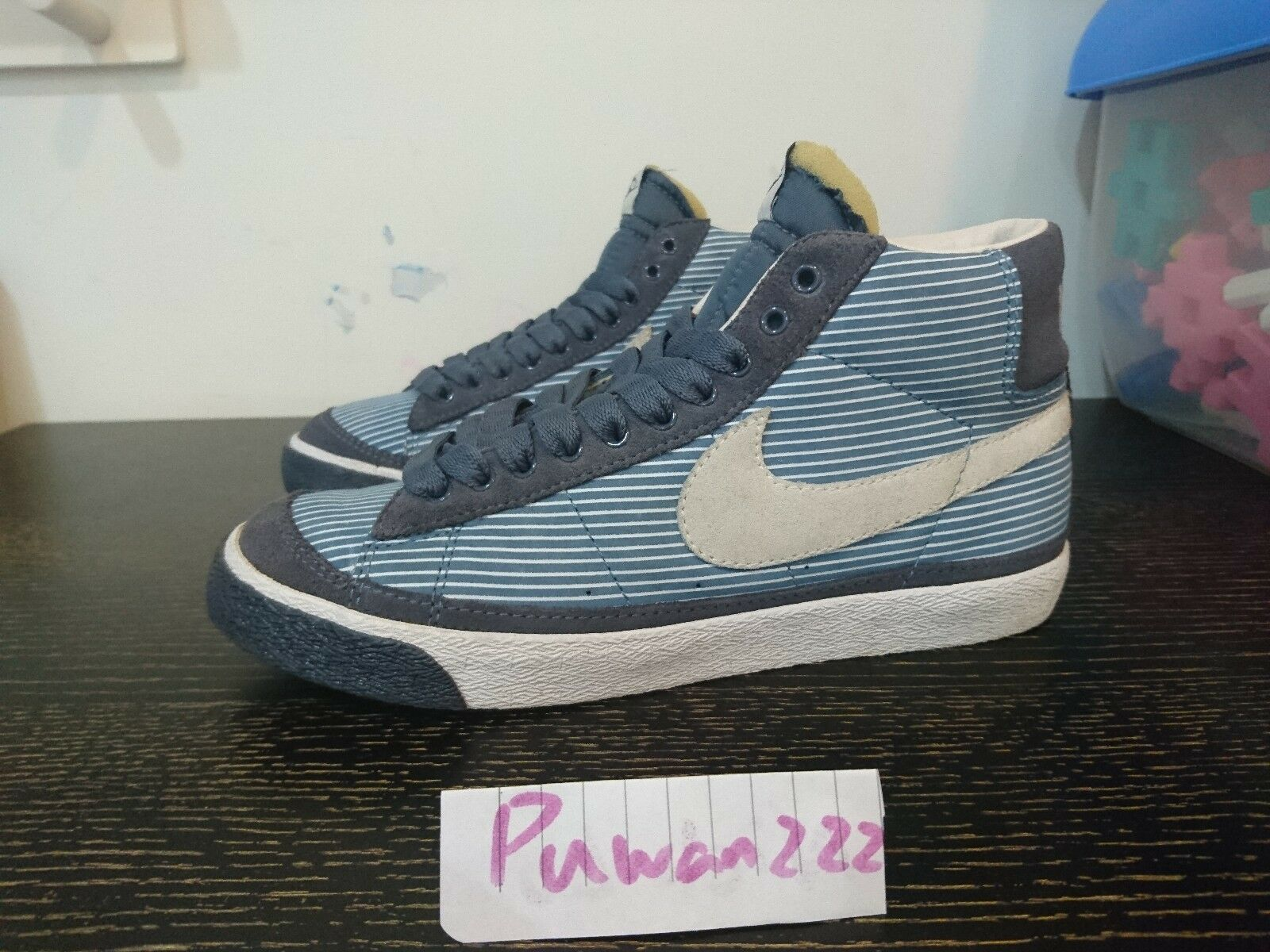 VNDS Wmns Blazer Mid STRIPE Price reduction Special limited time