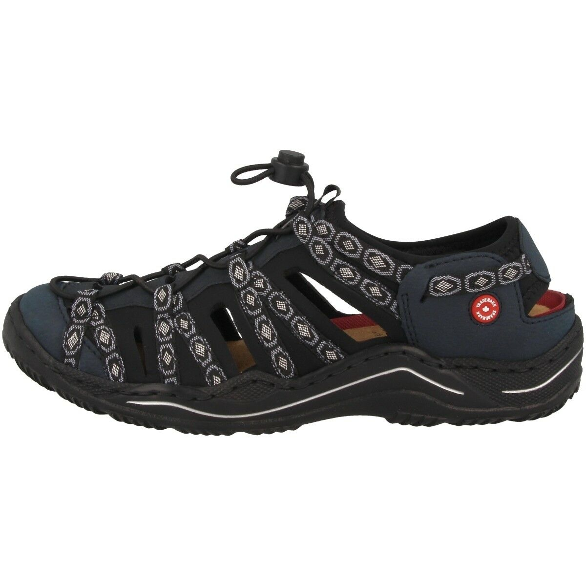 Rieker BUKINA-Namur Zapatos señora anti estrés outdoor cortos sandalia l0577-15