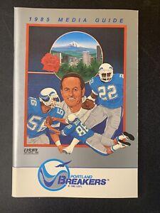 PORTLAND-BREAKERS-USFL-FOOTBALL-1985-MEDIA-GUIDE-PRESS-BOOK-1st-season-in-PDX