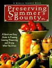 (I) Preserving Summer's Bounty by McClure (Paperback)