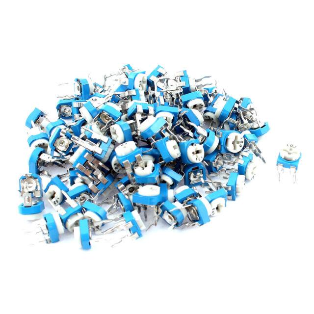 100pcs 10K ohm 3362 Trimmer Trim Pot Potentiometer 10k variable resistors